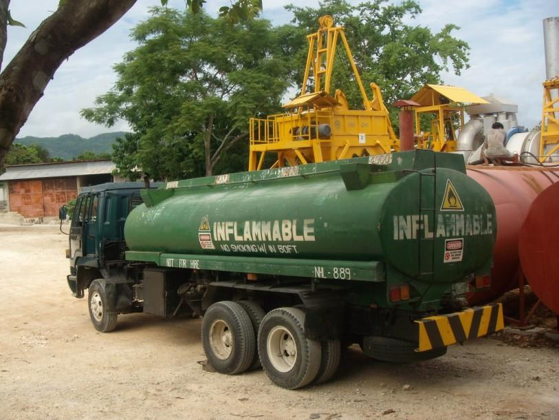 DENR waste oil transporter treater
